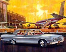 1964 Plymouth Fury 4 door, Refrigerator Magnet, 40 MIL