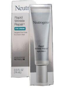 Neutrogena Rapid Wrinkle Repair Eye Cream 0.5fl.oz./14ml New In Box