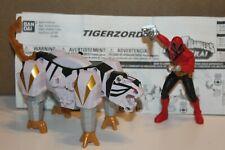 Power Rangers Samurai White Tiger and Red Ranger complete #31768