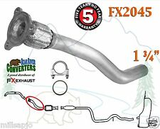 FX2045 Semi Direct Fit Exhaust Flange Repair Flex Pipe Replacement Kit w/ Gasket