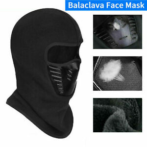 Winter Balaclava Face Mask Cold Weather Windproof Fleece Ski Ninja Full Mask
