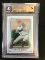 2011 Bowman Chrome Draft Prospects #BDPP9 Trevor Bauer BGS 9.5 GEM MINT