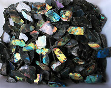 Choose Carefully! 22LB/250+Pcs Colourful Labradorite Mineral Small Size