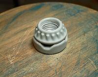 Flush Mount Lamp Holder - Two Piece Porcelain Sign Socket Vintage Marquee Lights