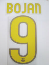 Bojan no 9 chemise football Barcelone domicile nom set enfants jeunes