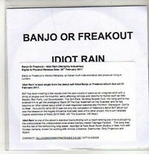 (CO188) Banjo Or Freakout, Idiot Rain - 2011 DJ CD