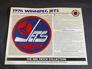 Willabee & Ward NHL Official Patch 1976 Winnipeg Jets