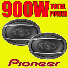 "Pioneer 6x9 6x9"" 900W Total Power 4-Way Car/Van Rear Deck Shelf Speakers Grills"