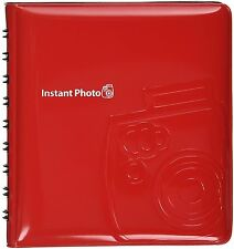 New FUJIFILM Instax mini Album 64 Photos Red from Japan Free Shipping