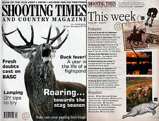 Shooting Times and Country Magazine June 2001 Keeping your Gun Dog Fit Hip & Eye