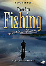 Hooked On Fishing - With Paul Young - Collection (DVD, 2010, 3-Disc Set, Box Set)