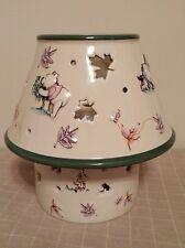 Disney Winnie The Pooh Candle Jar Lamp Autumn Leaves Tiger Eeyore Piglet