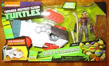 Teenage Mutant Ninja Turtle Vehicle Figure Set CASEY JONES SLAMBONI TMNT