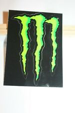 """MONSTER ENERGY Claw Sticker 4.2"""" Athlete Issue"""