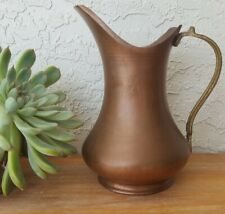 Vintage Copper Watering Can Pitcher Made in Turkey