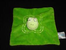 Babylove Frosch grün Kuscheltuch Kuscheltier Schmusetuch 107 top