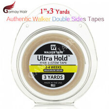 Walker Ultra Hold Tapes Roll Men Toupee Hair Wigs 1'x3 3/4'x3 Double Sided Tape