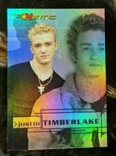 2000 Topps *NSYNC Card - Rainbow Prism Chase Card 1 of 10 Justin Timberlake