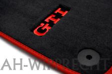 NEU VW GTI Matten Original Golf 5 6 Fußmatten Fussmatten Premium Velour vorn OEM