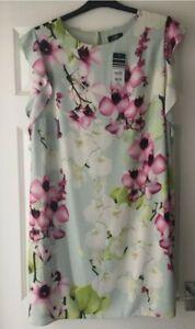 Wallis Pretty Floral Dress Size 20