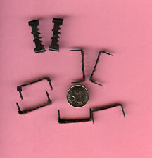 """50 Nailess 1"""" Long Hardened Black Sawtooth Hangers. Very Strong!  (Bin 709-A)"""