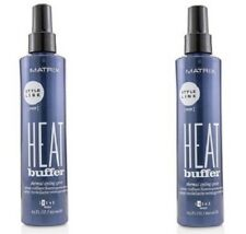 Lot of 2 Matrix Style Link Heat Buffer Thermal Styling Spray (Hold 2)  8.5oz eac