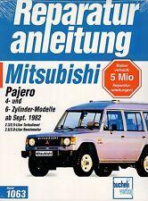 MITSUBISHI PAJERO l040 dal 09/1982 2,3 2,5 2,6 3,0l manuale riparazione officina!