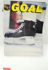 Vintage Goal Hockey Magazine 1985 w/ Stats