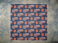 MLB DETROIT TIGERS BASEBALL HEAD BANDANA / CHEERING CLOTH  22 1/2""