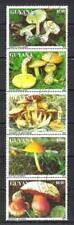 Champignons Guyane (28) série complète de 4 timbres oblitérés