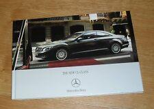Mercedes CL Hardback Sales Brochure 2006-2007 - CL500 CL600 CL63 AMG