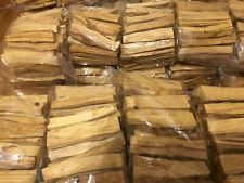 PALO SANTO WOOD | 1 KILO BAG |  2.2 POUNDS | 4 INCH HOLY WOOD INCENSE STICKS