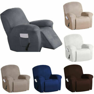 Recliner Chair Cover Wingback Sofa Suede Slipcover Lazy Boy Arm Chair Protector