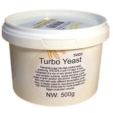 Turbo Yeast SW20 500g 48 Hour Dual Function Alcohol Distilling