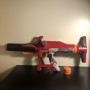 Nerf Titan AS V1 Dart Gun Missile Launcher N-Strike Hasbro with Missile Air Pump