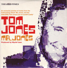 TOM JONES: MR JONES - UK ALBUM PREVIEW CD: 5 AUDIO TRACKS + 2 VIDEOS