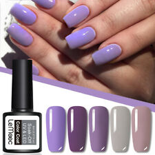 Lemooc 8ml Nail Esmalte Gel UV Soak Off Nail Primavera Verano Serie Gel Nail Polish