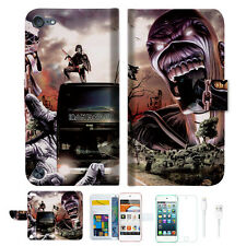 Iron Maiden Wallet Case Cover For iPod Touch 5 & 6-- A014