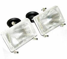 Headlight Headlamp Pair Rectangular Massey Ferguson 4225 4245 4255 4260 4265+