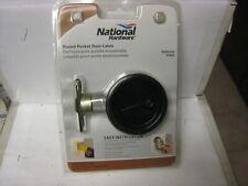 National Hardware N350-355 V1954 Pocket Door Latch, Oil Rubbed Bronze