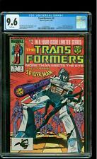 Transformers 3 CGC 9.6 NM+ Spider-Man Megatron Autobots Decepticons Marvel
