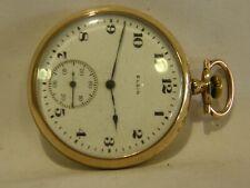 1919 ELGIN SIZE 12 GOLD FILLED POCKET WATCH