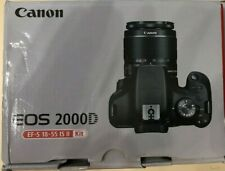 Canon EOS 2000d / Rebel T7 DSLR Canon EF-S 18-55mm IS II UV filter Gift