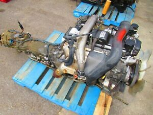 Toyota Hilux 1KZ-TE Turbo Diesel Engine Automatic 4wd Transmission 1KZ 4Runner