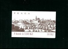 LOT 81672 MINT NH 2948 COMPLETE BOOKLET STAMPS FROM CZECHOSLOVAKIA