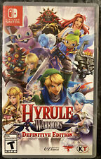 Hyrule Warriors Definitive Edition Nintendo Switch Case - Authentic - NO GAME