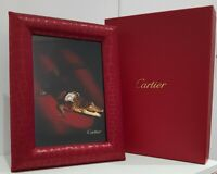 NEW - Genuine CARTIER Fine Photo Frame - Limited Edition - Croc Design RRP £1320