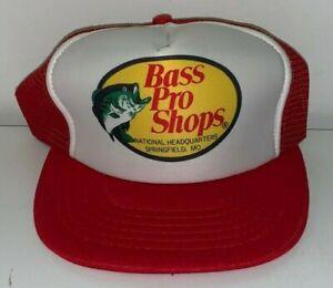 Vintage, BASS PRO SHOP, TRUCKER BASEBALL CAP (NOS Circa 1980's) Unused