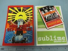 Long Beach Dub Allstars Sublime Promotional 2 Postcard Set New Old Stock