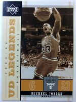 2003 03-04 Upper Deck UD Legends Retro Michael Jordan #14, Chicago Bulls